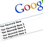 Choose Keywords in google
